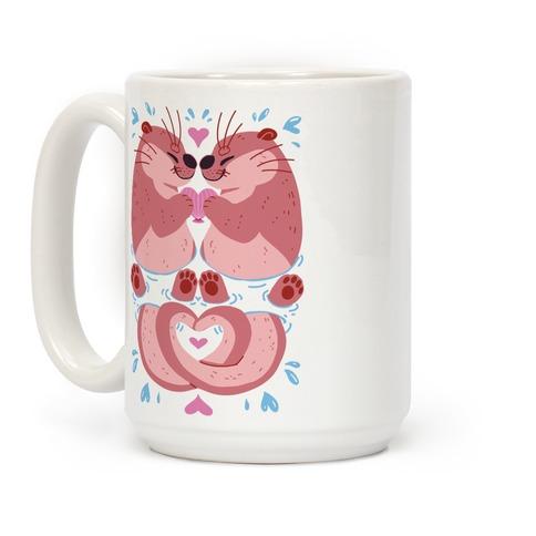 Otter Lovers Coffee Mug