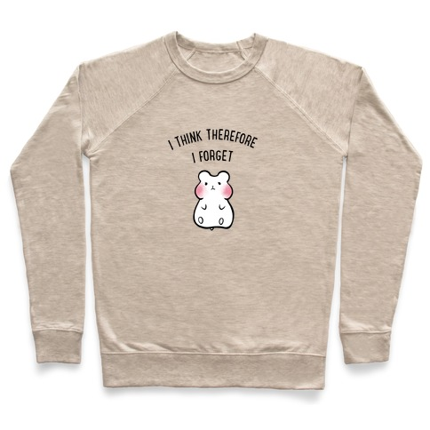 I Think Therefore I Forget Pullover
