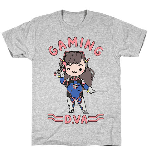 Gaming D.Va Mens T-Shirt
