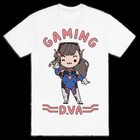 Gaming D.Va Mens T-Shirt