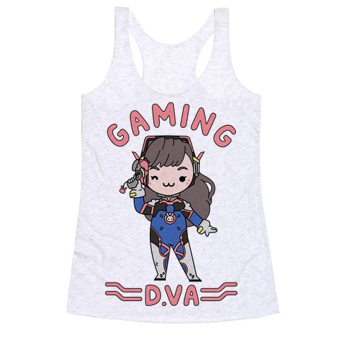 Gaming D.Va Racerback Tank Top