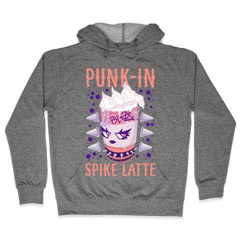 Punk-In Spike Latte Hooded Sweatshirt