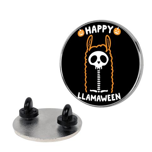 Happy Llamaween pin