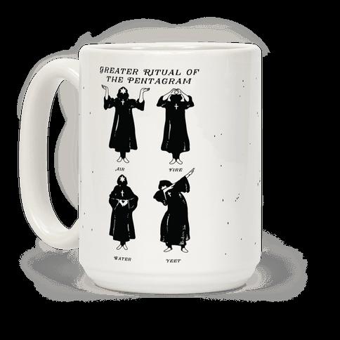 Greater Ritual of the Pentagram Dab Coffee Mug