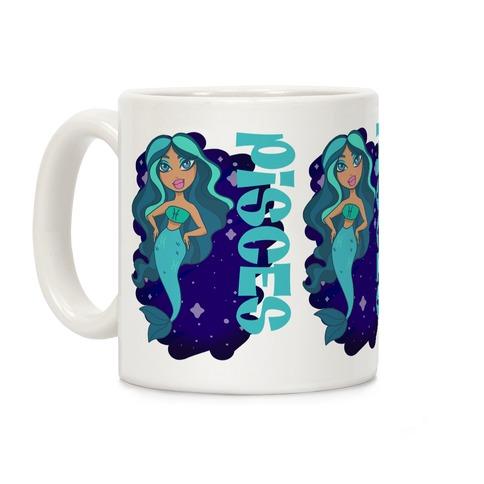 Zodiac Dollz: Pisces Coffee Mug