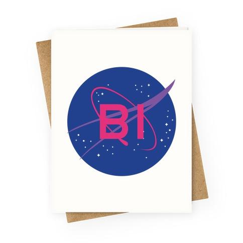 Bi Nasa Greeting Card
