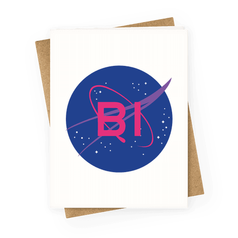 Bi Nasa Greeting Card