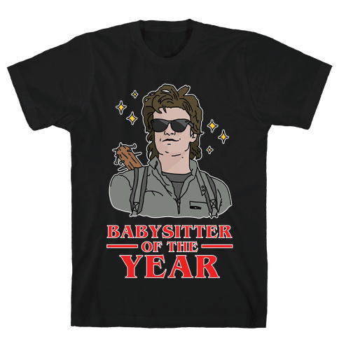 Babysitter of the Year Mens T-Shirt