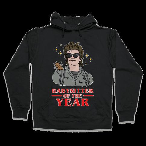Babysitter of the Year Hooded Sweatshirt