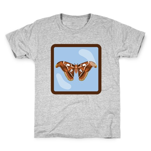 Framed Atlas Moth Kids T-Shirt