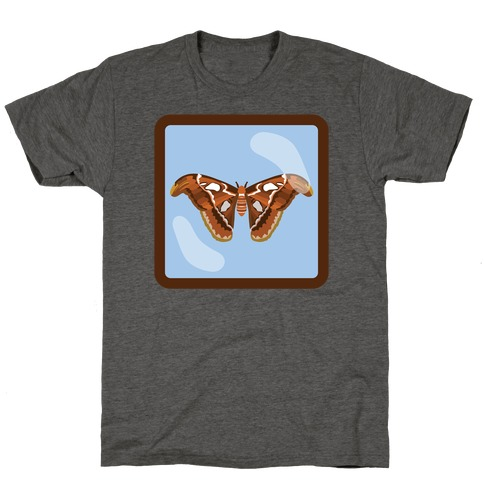 Framed Atlas Moth T-Shirt