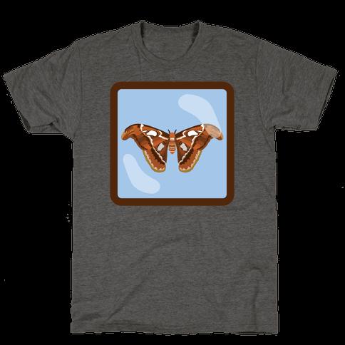 Framed Atlas Moth Mens/Unisex T-Shirt