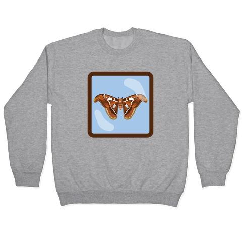 Framed Atlas Moth Pullover
