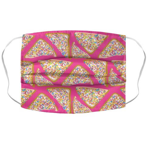 Fairy Bread Pattern Accordion Face Mask
