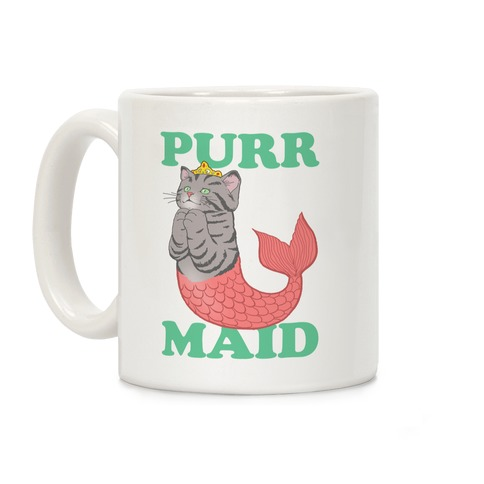 Purr Maid Coffee Mug