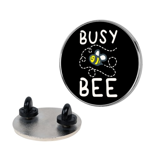 Busy Bee Pin