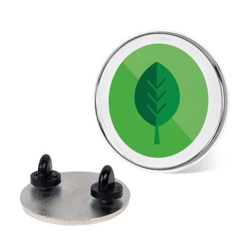 Grass Type Gym Leader Badge Pin