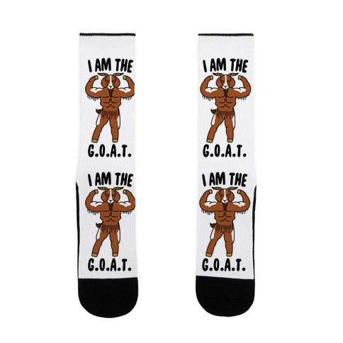I Am The G.O.A.T. Sock