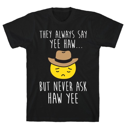 Sad Cowboy Emoji T-Shirt