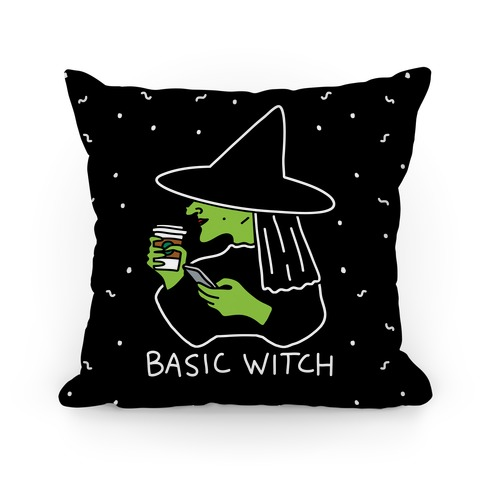 Basic Witch Pillow