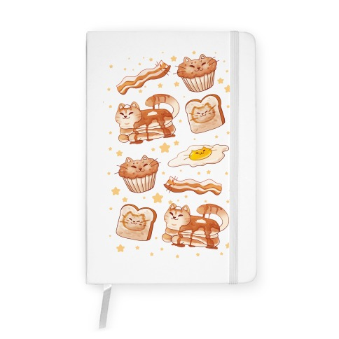 Breakfast Cats Notebook