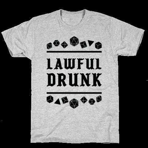 Lawful Drunk Mens/Unisex T-Shirt