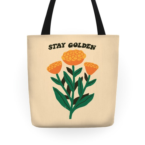 Stay Golden Marigolds Tote