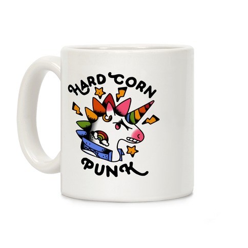 Hard Corn Punk Coffee Mug