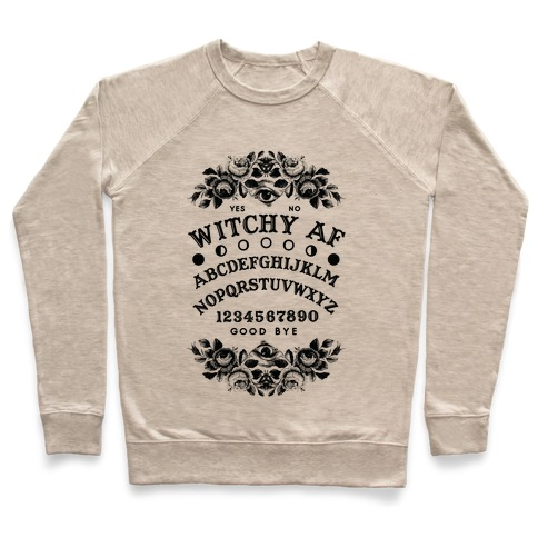 Witchy AF Ouija Board Pullover