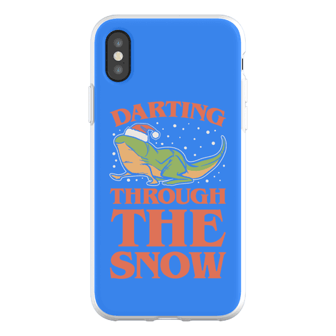 Darting Through The Snow Parody Phone Flexi-Case
