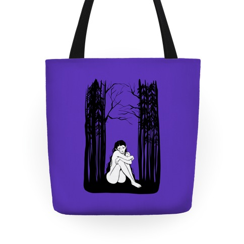 Forest Nymph (purple) Tote