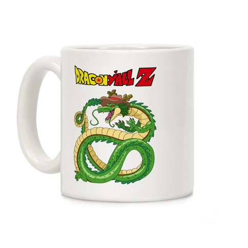 Dragon Y'all Z Coffee Mug