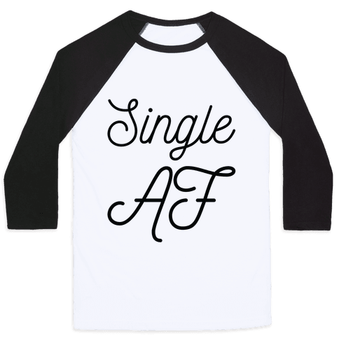 Single AF Baseball Tee