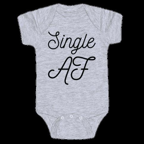 Single AF Baby Onesy
