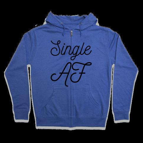 Single AF Zip Hoodie