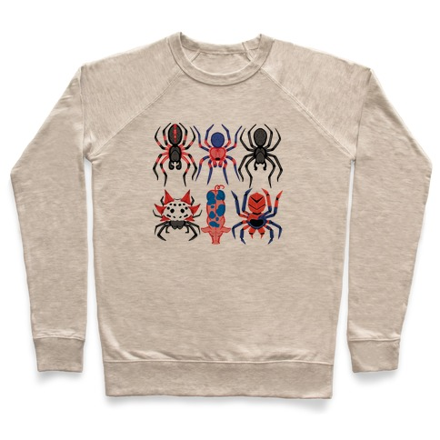 Into the Spiderverse Pattern Pullover