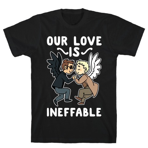 Our Love is Ineffable - Good Omens T-Shirt