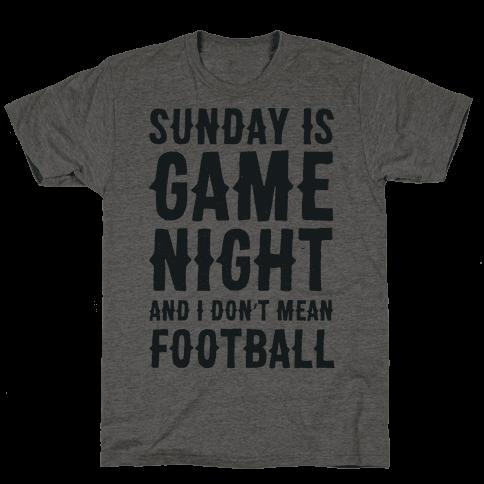Sunday Is Game Night Parody