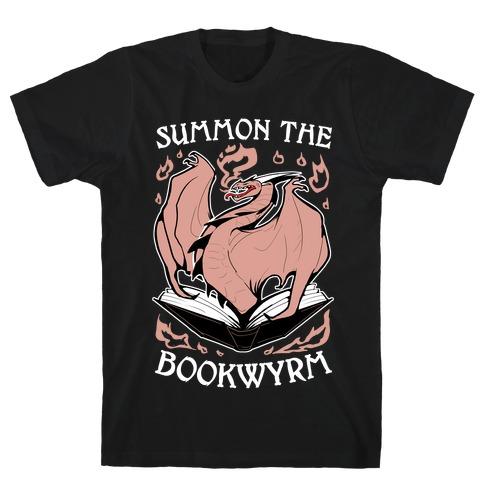 Summon The Bookwyrm T-Shirt