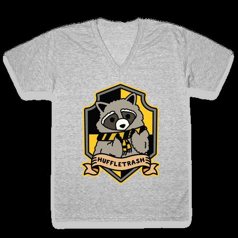 Huffletrash V-Neck Tee Shirt