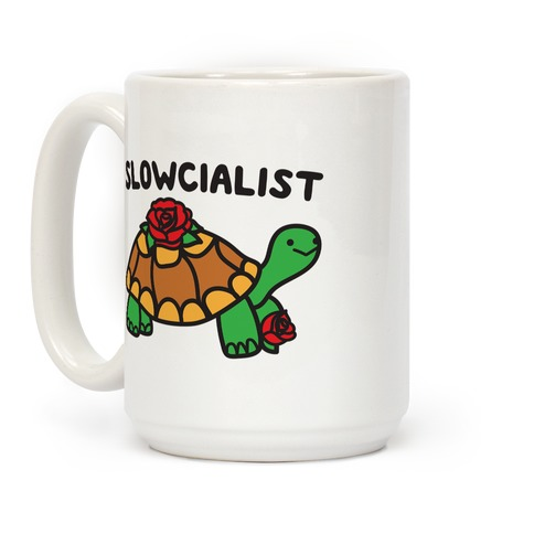Slowcialist Turtle Coffee Mug