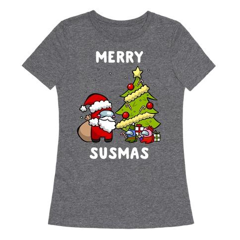 Merry Susmas Womens T-Shirt