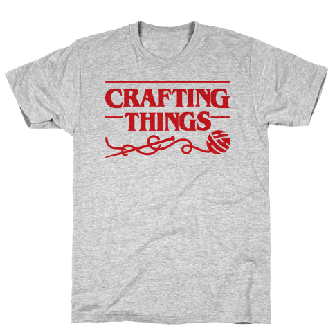 Crafting Things Parody Mens T-Shirt