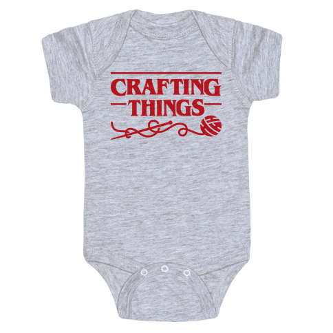 Crafting Things Parody Baby Onesy