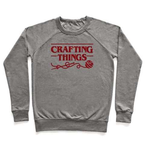 Crafting Things Parody Pullover