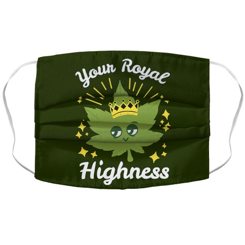 Your Royal Highness Accordion Face Mask