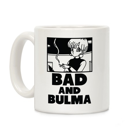 Bad And Bulma Coffee Mug