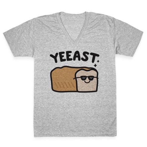 YEEAST Bread V-Neck Tee Shirt