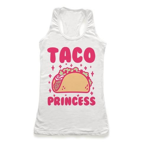 Taco Princess Racerback Tank Top