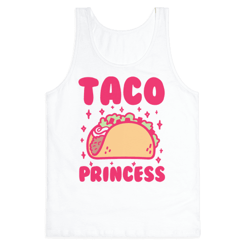 Taco Princess Tank Top